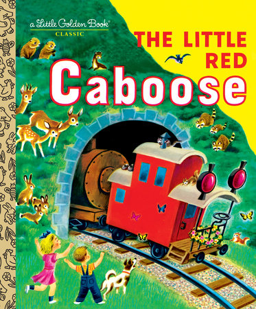 The Little Red Caboose - Little Golden Books