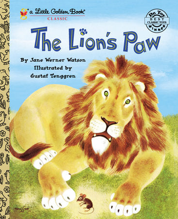 The Lion's Paw - Little Golden Books