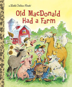 Old MacDonald Had a Farm - Little Golden Books
