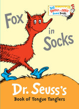 Load image into Gallery viewer, Fox in Socks by Dr. Seuss