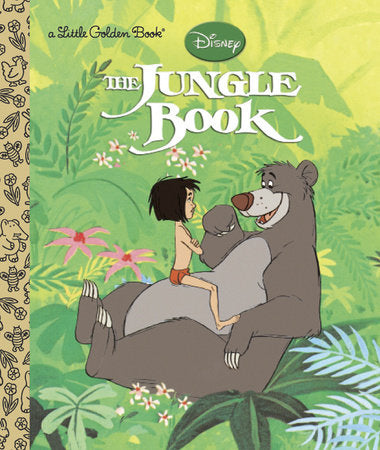 The Jungle Book (Disney The Jungle Book) - Little Golden Books