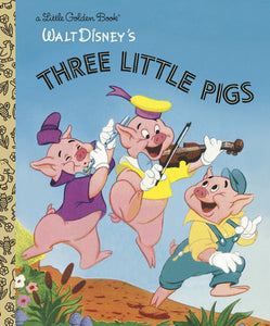 The Three Little Pigs (Disney Classic) - Little Golden Books