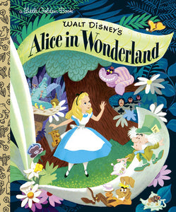 Alice in Wonderland (Disney Classic) - Little Golden Books