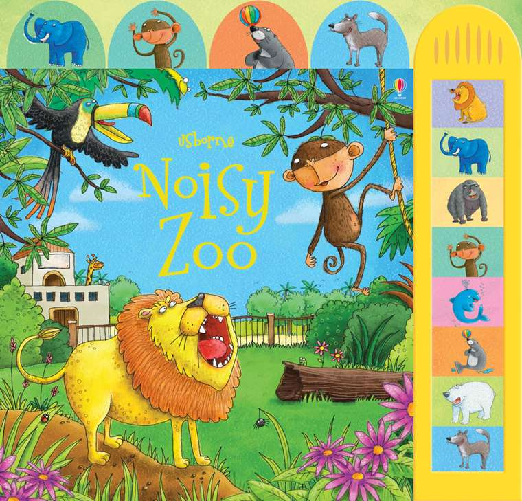 Noisy Zoo (Busy Sounds Board Book) - Usborne