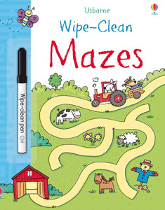 Wipe-Clean: Mazes by Usborne