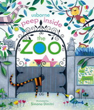 Load image into Gallery viewer, Usborne Peek Inside the Zoo