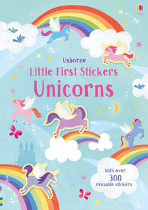 Little First Stickers: Unicorns - Usborne