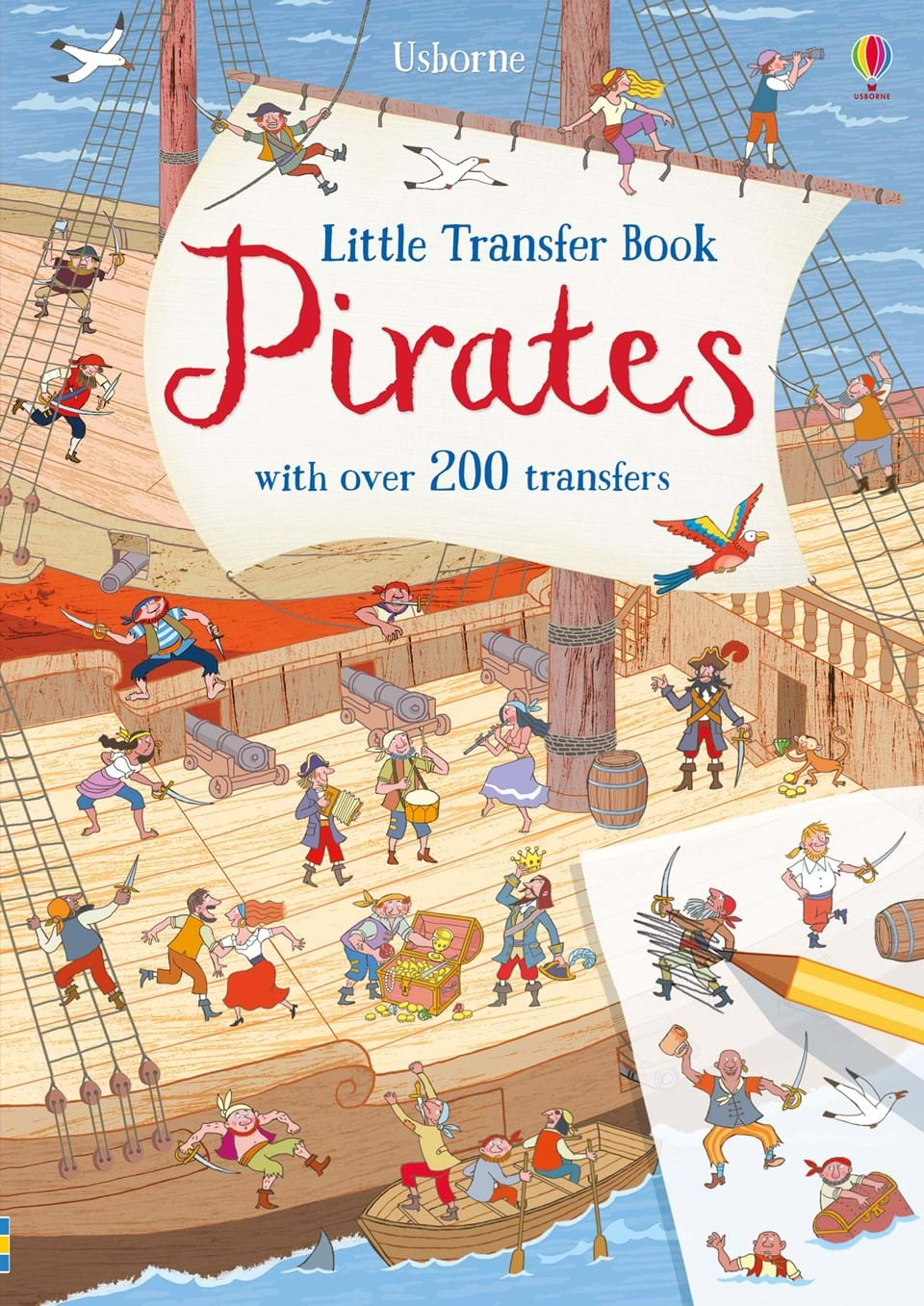 Usborne Little Transfer Book - Pirates