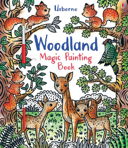 Magic Painting Book: Woodland - Usborne