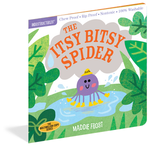 Indestructibles Books - The Itsy Bitsy Spider