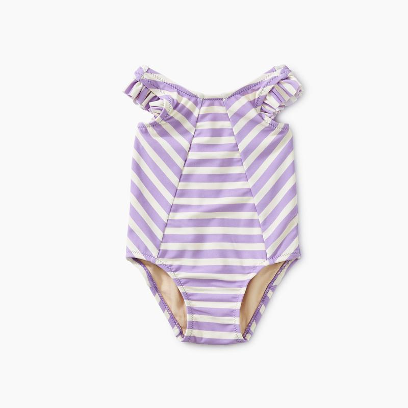 Tea Collection Striped One-Piece - Aster