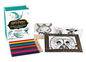 Harry Potter Magical Creatures Mini Coloring Kit