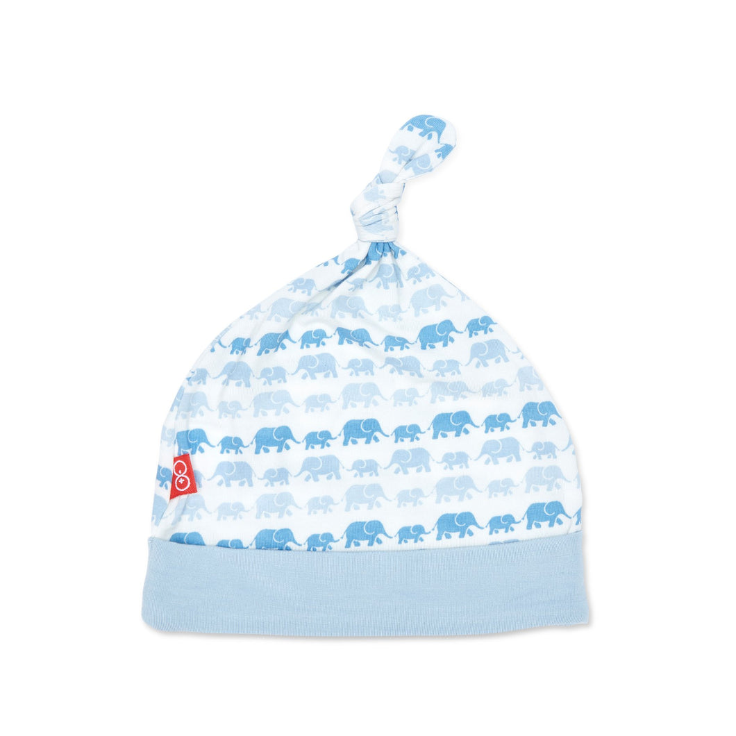 Magnetic Me Modal Hat - Blue Dancing Elephants