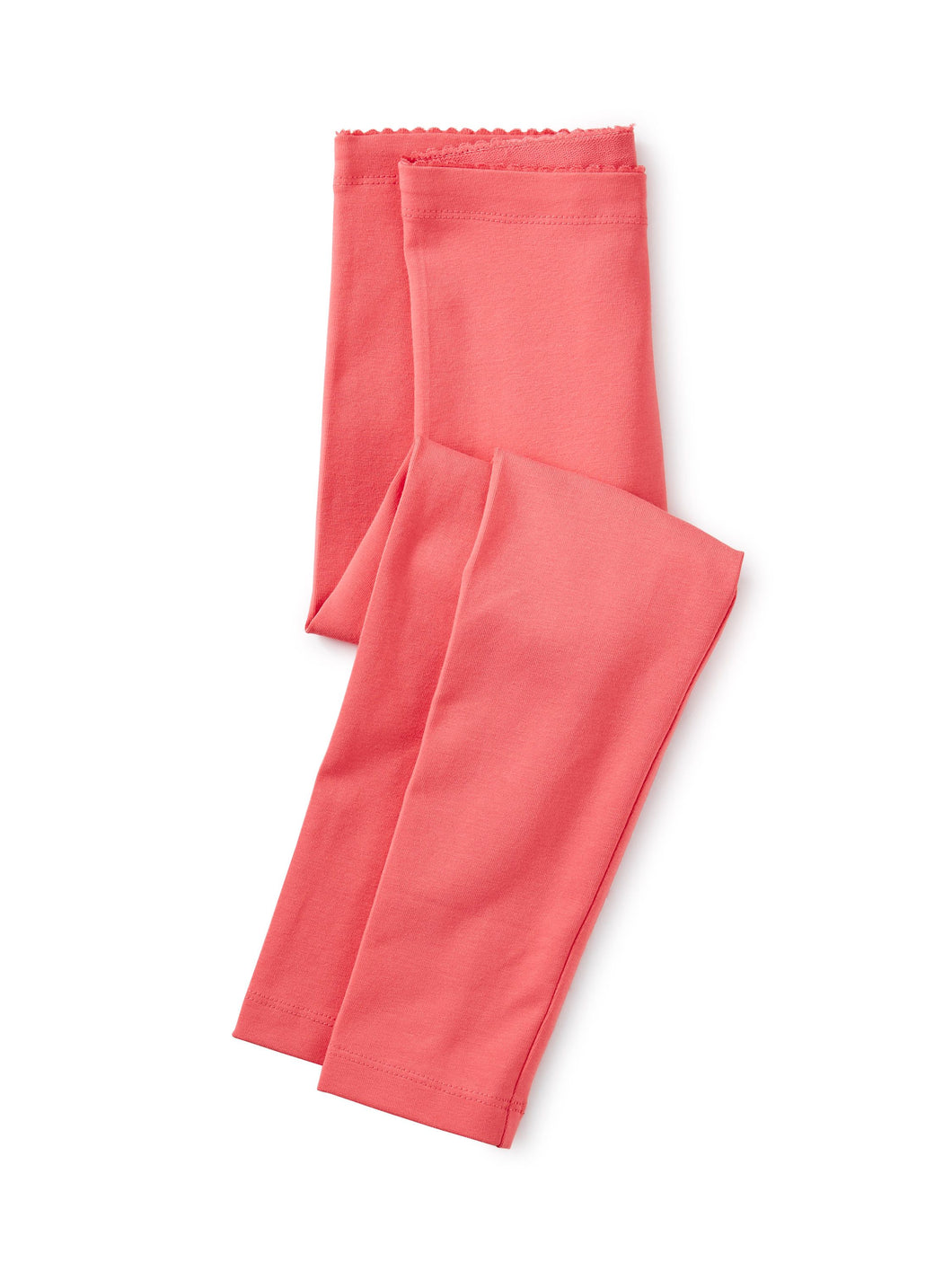 Tea Collection Solid Leggings - Flat Neon Rosa