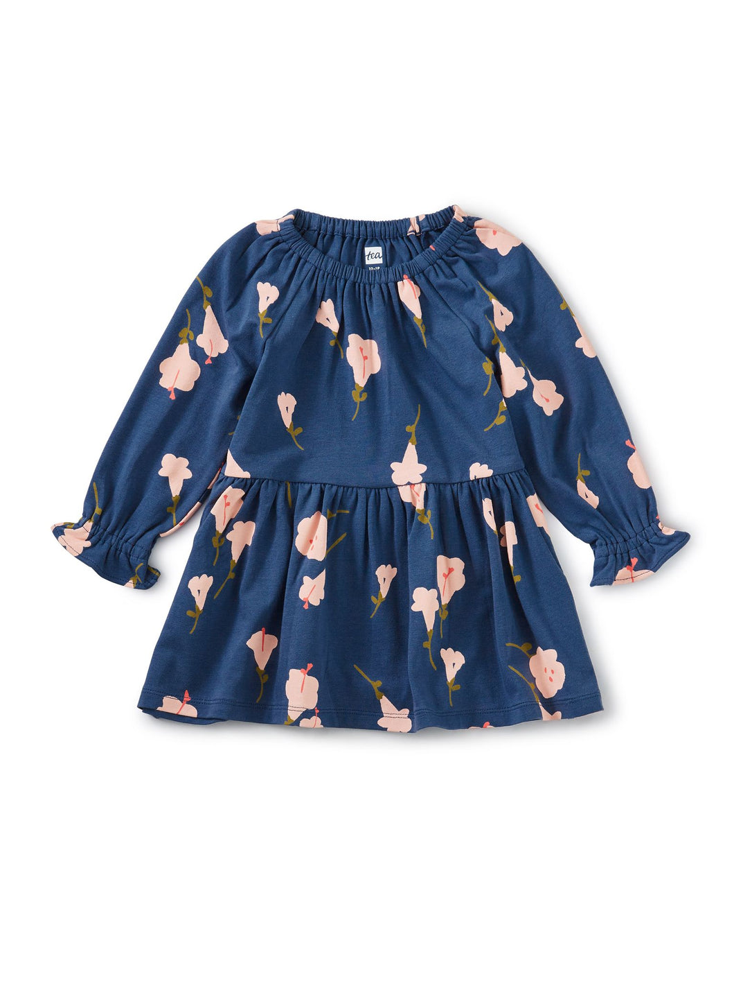 Tea Collection Peasant Baby Dress - Flora de Inca