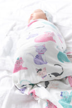 Load image into Gallery viewer, Copper Pearl Knit Swaddle Blanket - Sassy
