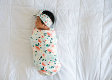 Load image into Gallery viewer, Copper Pearl Knit Swaddle Blanket - Leilani