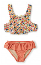 Load image into Gallery viewer, Tea Collection Flutter Bikini Set - Cyprus Floral/Mauveglow