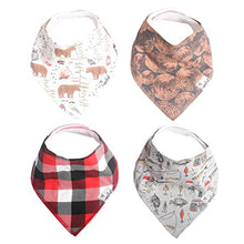 Load image into Gallery viewer, Copper Pearl Single Bandana Bibs - Lumberjack
