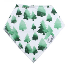 Load image into Gallery viewer, Copper Pearl Single Bandana Bibs - Woodland