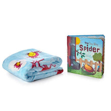 Load image into Gallery viewer, Book & Blanket Set - The Itsy Bitsy Spider
