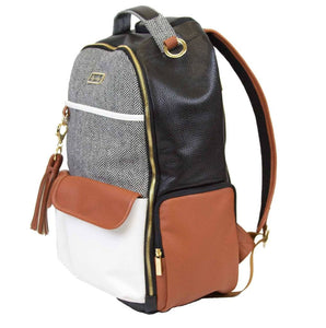 Itzy Ritzy Boss Backpack Diaper Bag - Coffee & Cream
