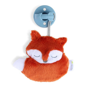 Itzy Ritzy Sweetie Pals Pacifier with Animal Attached - Alex the Fox