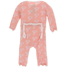 Load image into Gallery viewer, KicKee Pants Ruffle Coverall with Zipper Blush Happy Tornado