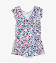 Load image into Gallery viewer, Hatley Spring Wildflowers Faux Dress Romper