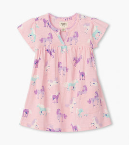 Hatley Playful Ponies Baby Puff Dress