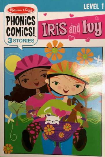 Phonics Comics: Iris and Ivy - Level 1