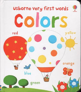 Baby's Very First Words Colors Book - Usborne