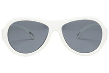 Load image into Gallery viewer, Wicked White  - Aviator Sunglasses