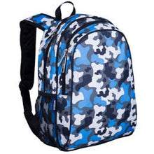 Load image into Gallery viewer, Wildkin 15 inch Backpack - Blue Camo