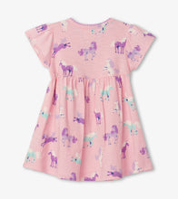 Load image into Gallery viewer, Hatley Playful Ponies Baby Puff Dress