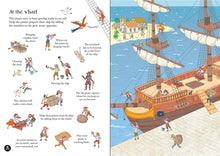 Load image into Gallery viewer, Usborne Little Transfer Book - Pirates