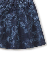 Load image into Gallery viewer, Tea Collection Twirl Skirt - Deep Blue Tie Dye