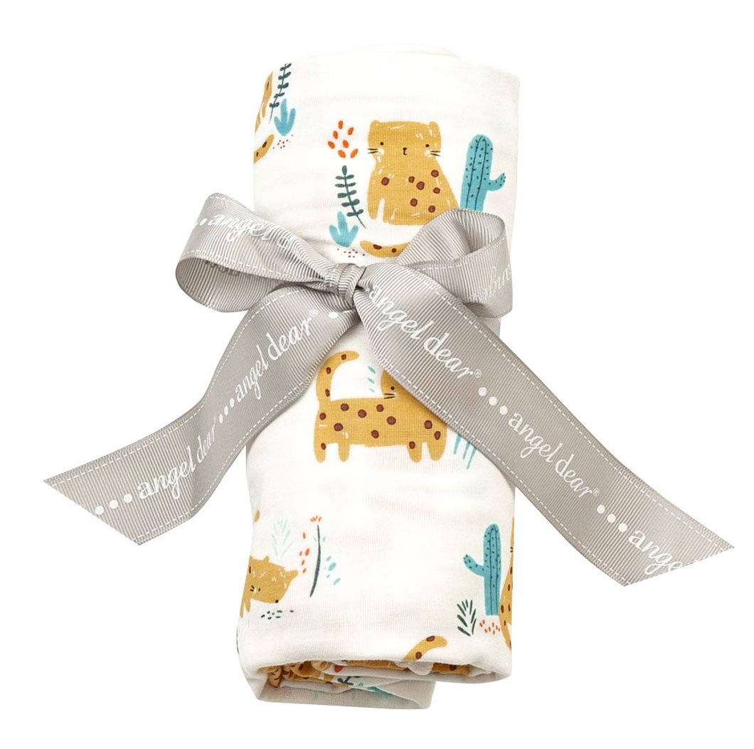 Angel Dear Swaddle Blanket - Cheetah