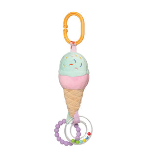 Manhattan Toy Cherry Blossom Ice Cream Cone Travel Toy
