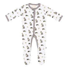 Load image into Gallery viewer, Kyte Baby Printed Footie with Snaps - Woodland
