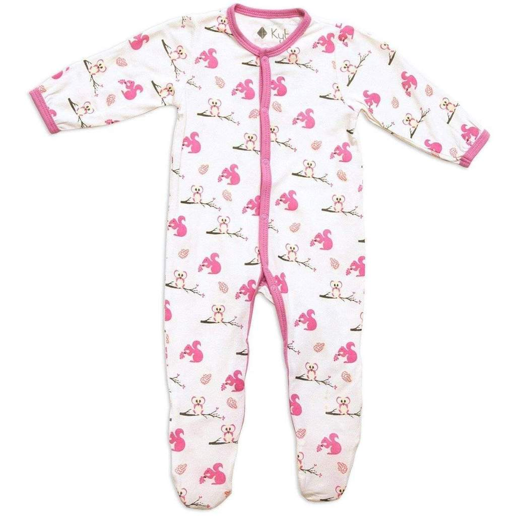 Kyte Baby Printed Footie with Snaps - Park