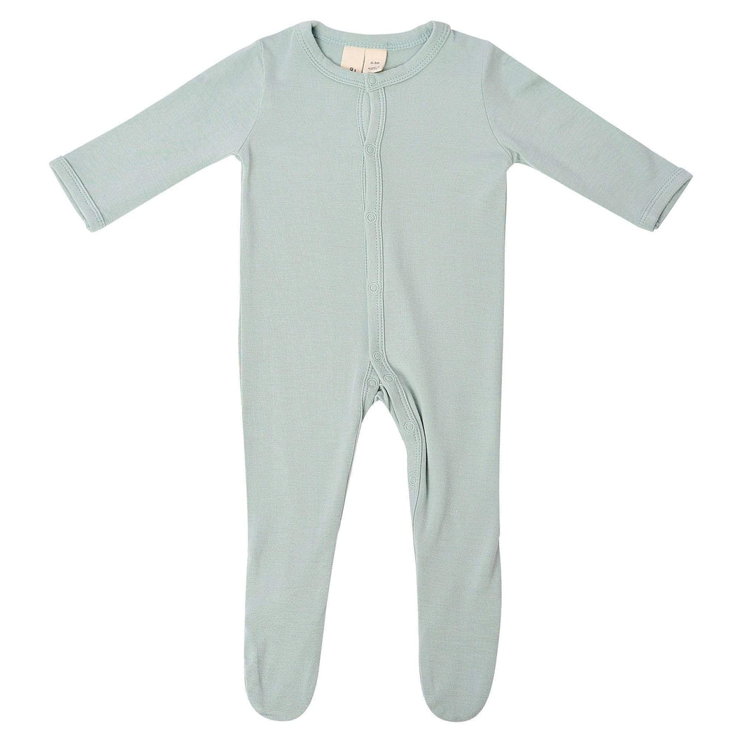 Kyte Baby Footie with Snaps - Sage