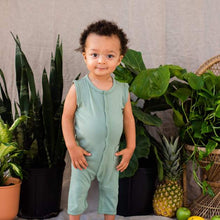 Load image into Gallery viewer, Kyte Baby Sleeveless Romper - Matcha