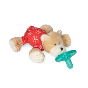 Wubbanub Infant Pacifier - PJ Baby Bear