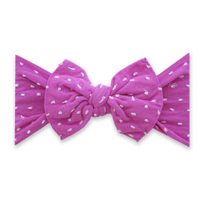 Patterned Shabby Knot - Barbie Dot