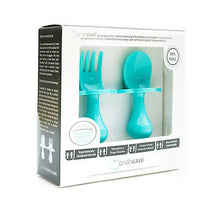 Load image into Gallery viewer, Grabease Ergonomic Utensils - Teal