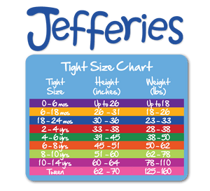 Jefferies Socks - Girls Pima Cotton Solid Color Tights (4 color options)