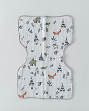Load image into Gallery viewer, Little Unicorn Cotton Muslin Burp Cloth - Forest Friends