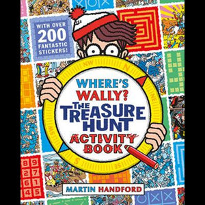 Where's Waldo? The Treasure Hunt Activity Book