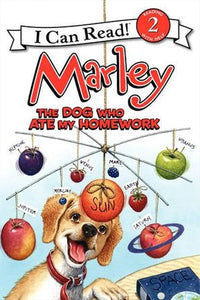 Marley: The Dog Who Ate My Homework - Level 2 - I Can Read Books